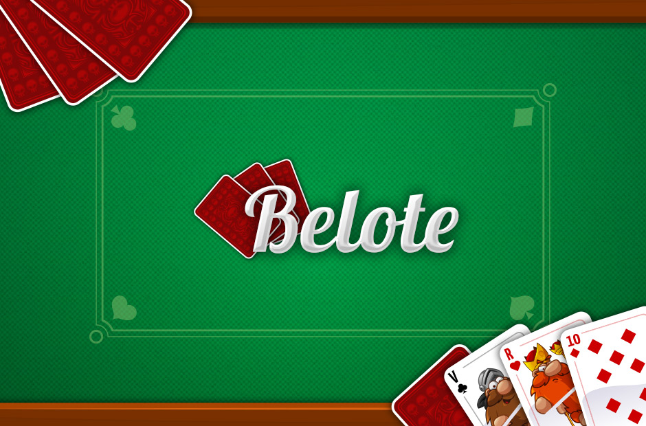 Belote Online Multiplayer Card Game For Free Challenge And Win